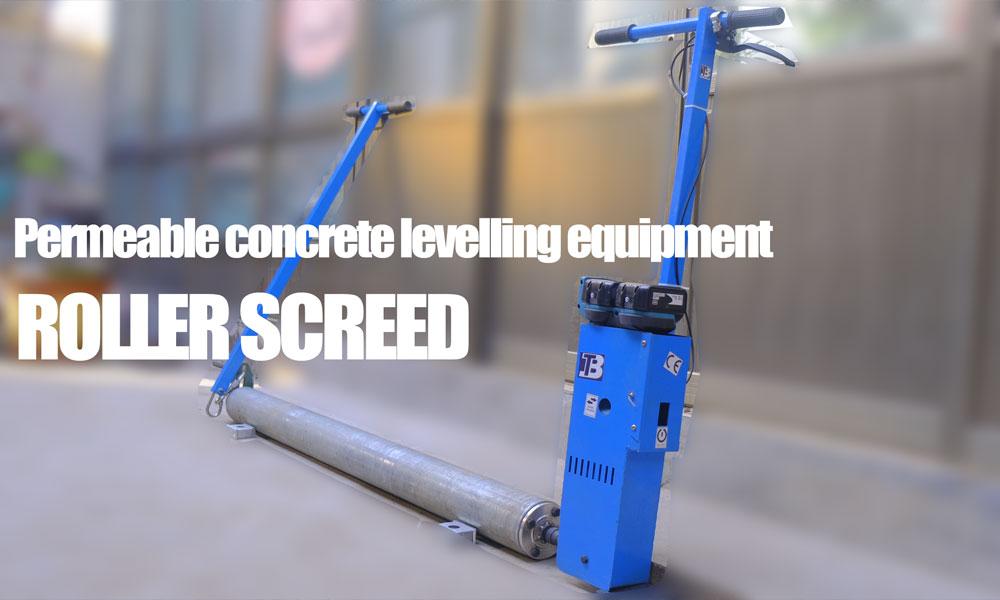 Permeable-concrete-levelling-equipment