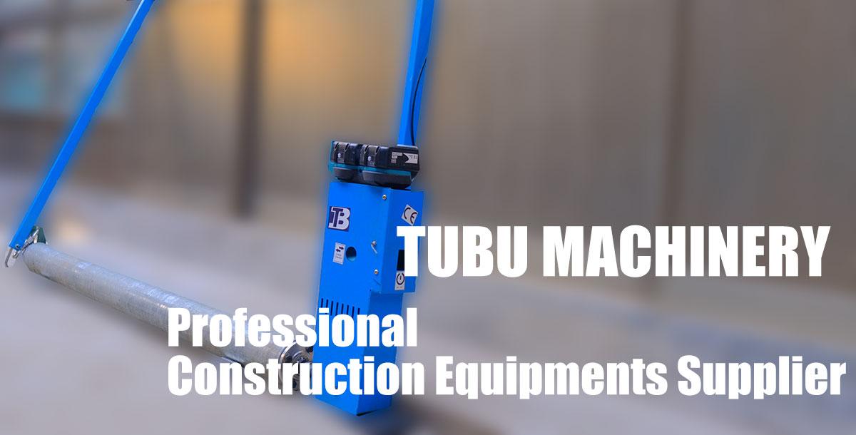 tubu concrete screed machine